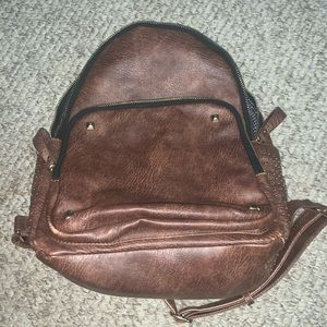 Vegan Leather Back Pack